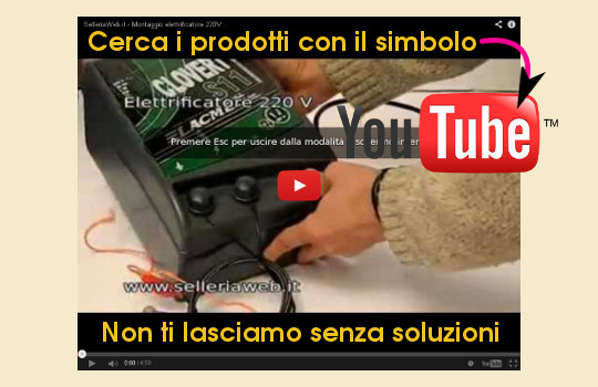SelleriaWeb, video su youtube per aiutarti
